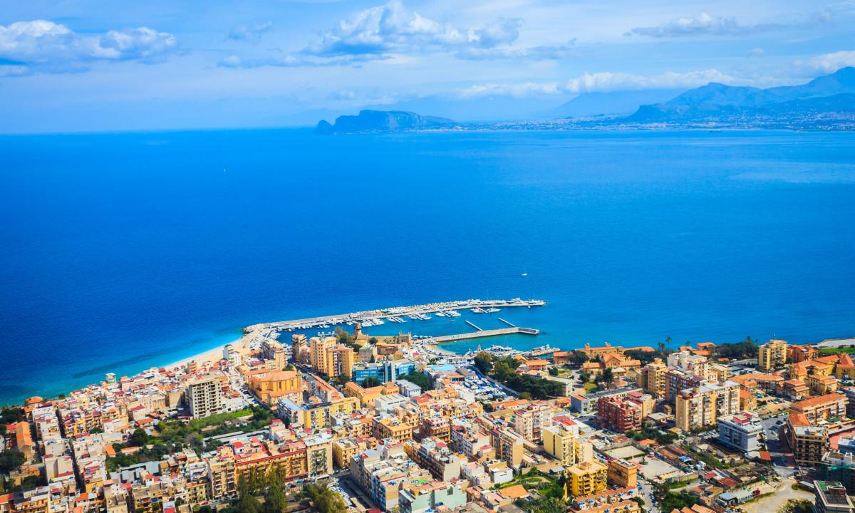Sicilien har smukke badestrande