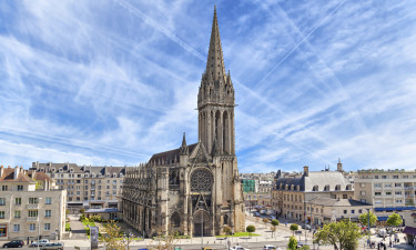 Smukke byer i Normandiet
