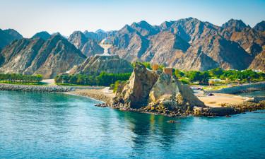 Byen Muscat i Oman