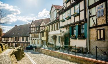 Goslar - By med gamle facader