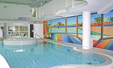 Indendørs pool og wellness