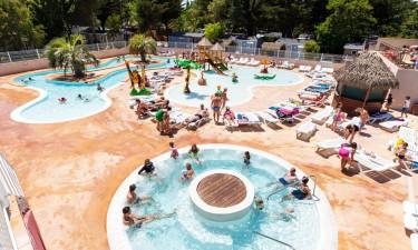 5-stjernet vandland på Camping Le Floride