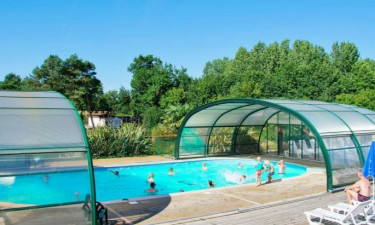Pool Camping La Bretonnière in Vendée