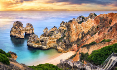 Algarvekysten i Portugal - Lagos