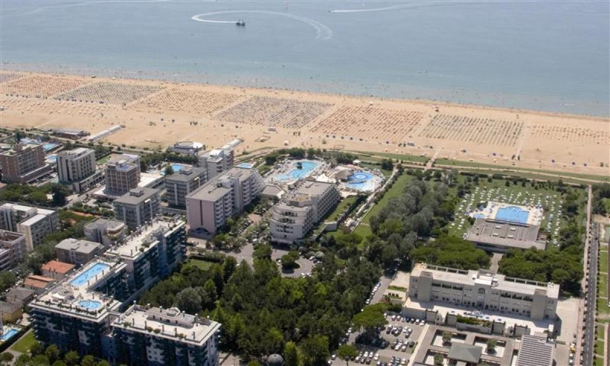 Luftfoto af Residenza delle Terme i Bibione