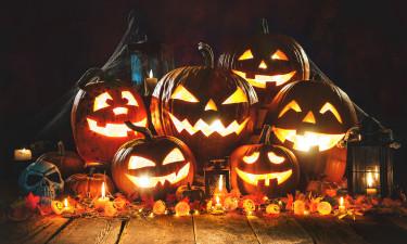 Halloween i Gudhjem