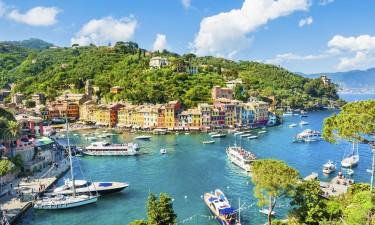 Porto Fino paa Den Italienske Riviera