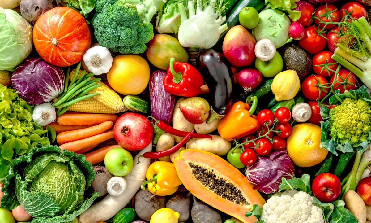 Minimarked - Friske grøntsager