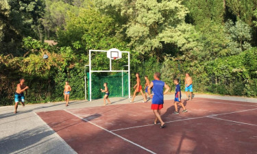 Sport Camping Les Tomasses in der Provence