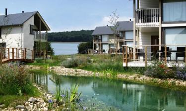 Moderne ferieboliger på Golden Lakes Village