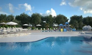 Pool Camping Bijela Uvala in Istrien