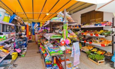 Indkøbsmuligheder og butik