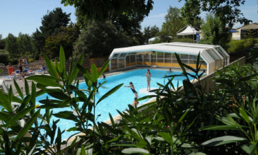 Pool Camping Le Paradis in Vendée