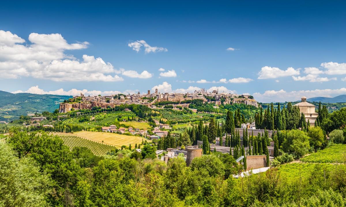 Orvieto i Umbrien, Italien
