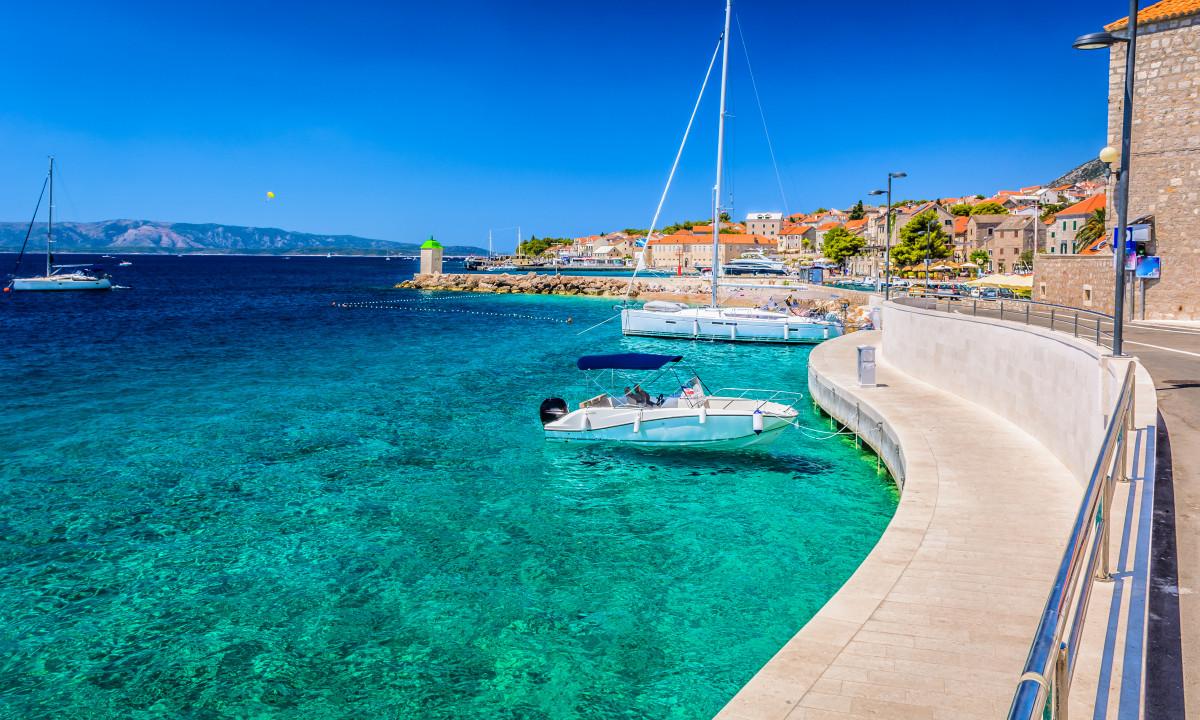 Adriaterhavskysten - Havn ved den italienske kyst