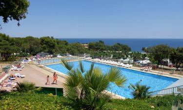 Indbydende pool og direkte til strand