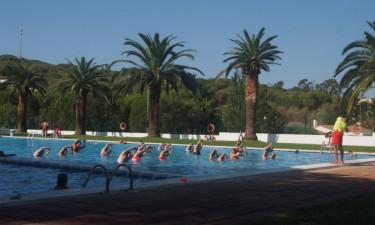 Hyggeligt poolområde