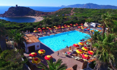Pool Camping Torre del Porticciolo auf Sardinien
