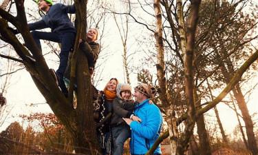 De Vossemeren - Familie hygger i det belgiske badeland