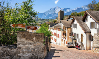 Kemping Valais Szwajcaria