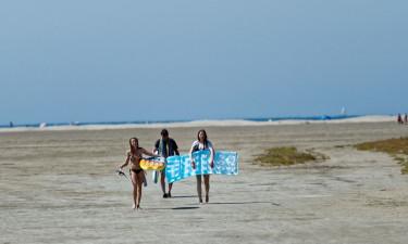 Tæt på den dejligste strand