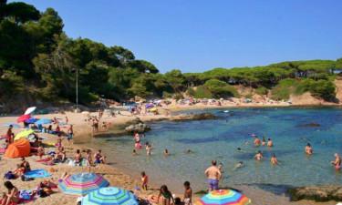 Strand Camping Vall D'Or an der Costa Brava