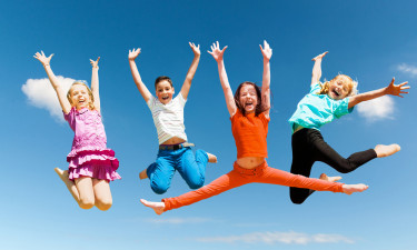 Sjove stunder for børnene