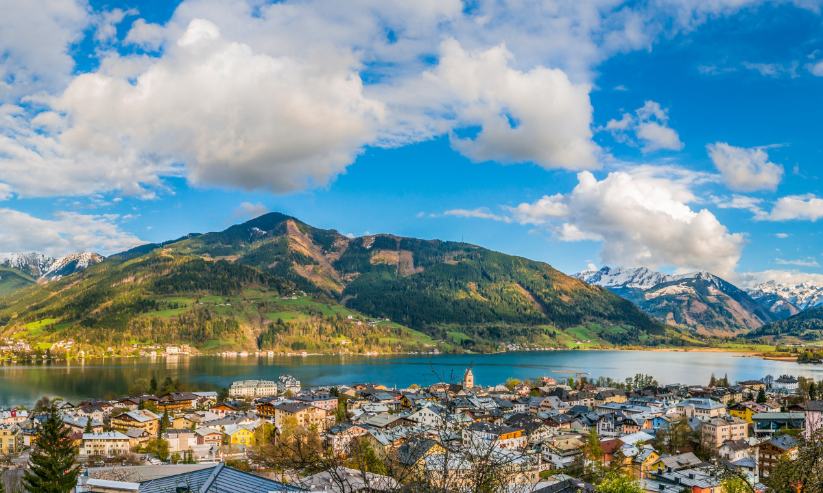 Zell am See - Byen ved søen