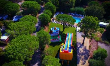 Stor pool og børnebassin