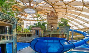 Sjovt badeland med mange faciliteter