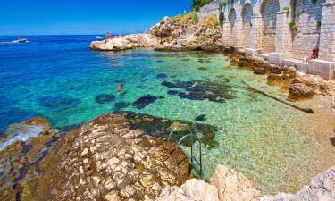 Mobilhomes i solrige Kroatien