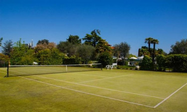 Villa Maria ved Gardasoeen - Groen tennisbane