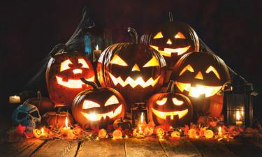 Halloween i efterårsferien på Bornholm