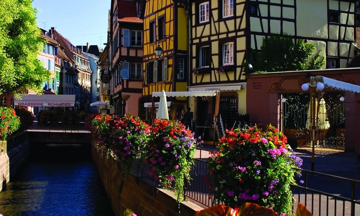 Bindingsvaerkshuse i Alsace