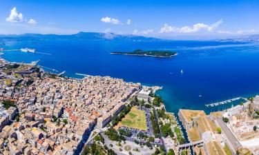 Byen ved Korfu