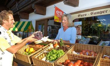 Einkaufen Eurocamp Wilder Kaiser im Salzburger Land