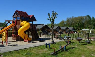 Dejlig campingplads tæt på Danmark