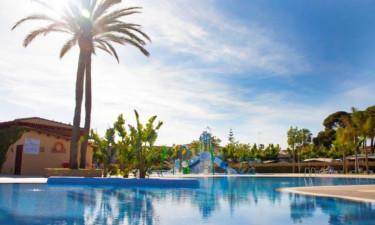 Pool Camping La LLosa an der Costa Dorada