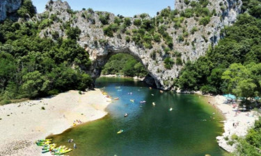 Fluss Ardeche Camping (Privas) in Ardèche
