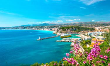 Sol og sommer ved Rivieraen