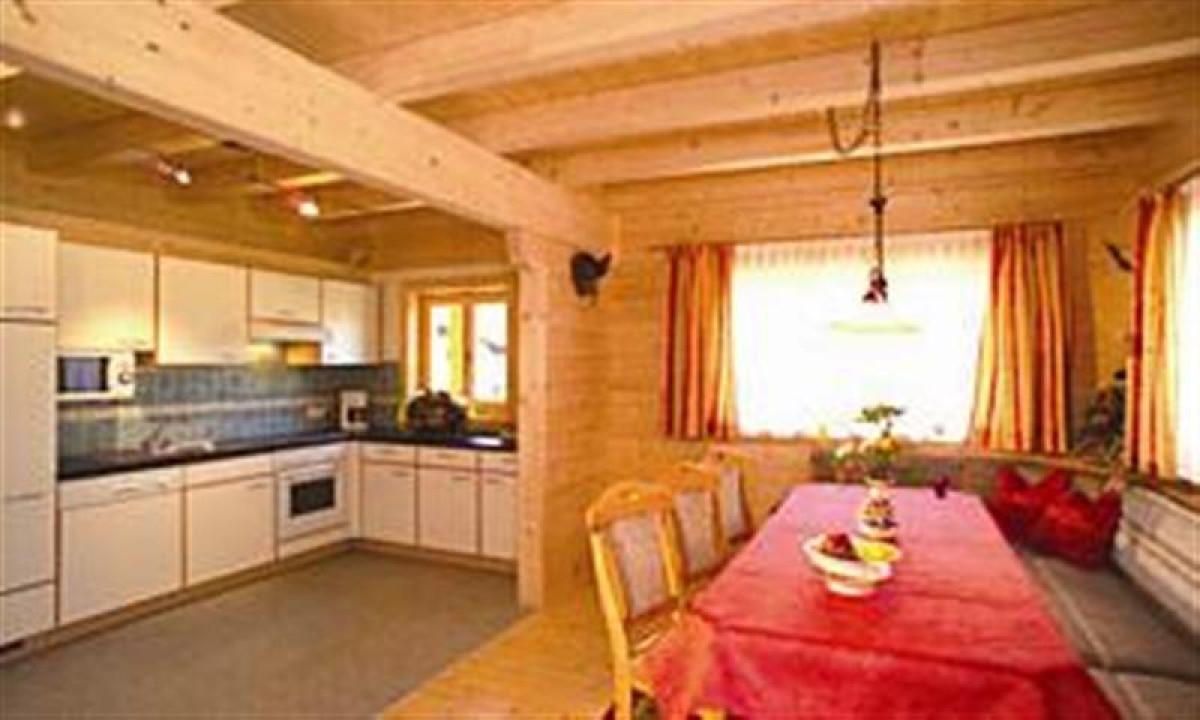 Tannenhof - Køkken og opholdsrum på feriestedet