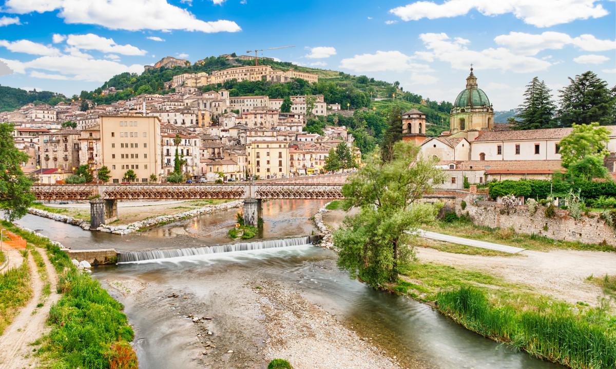 Cosenza i Calabrien i Italien