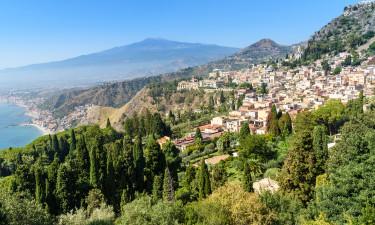 Vulkanen Etna paa Sicilien