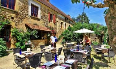 Restaurant Camping Le Pech Charmant in der Dordogne