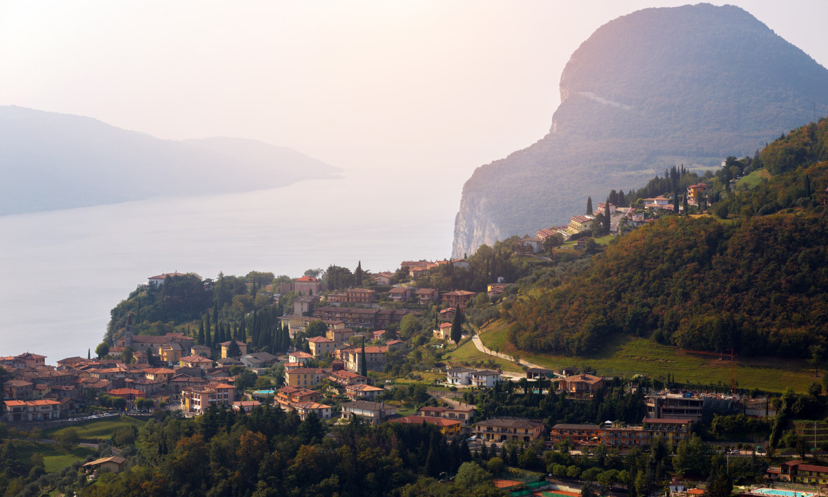 Gardasooen i Italien