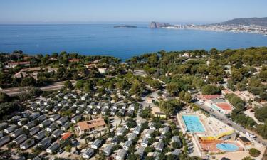 Camping La Baie des Anges an der Côte d'Azur