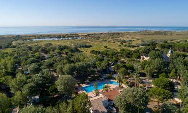 Umgebung Camping Blue Bayou in Languedoc