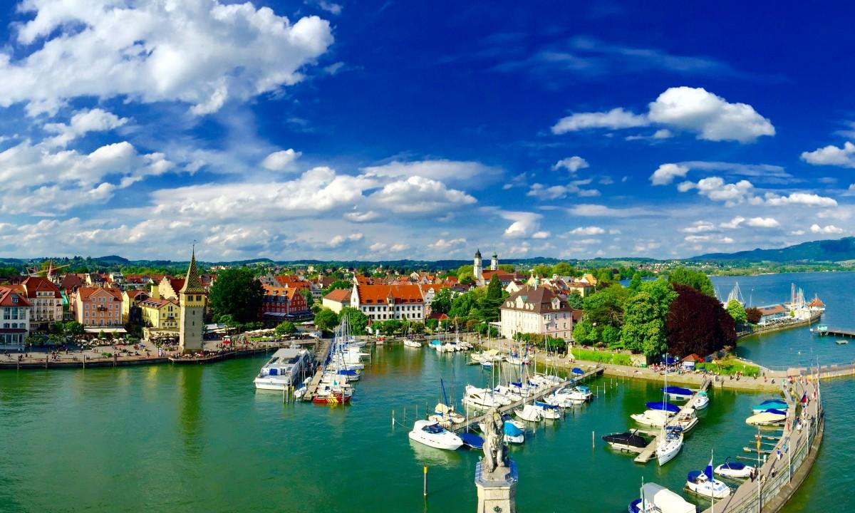 Havn i Sydtyskland