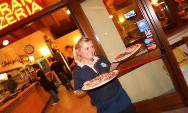 Italiensk spisested og hyggelig bar