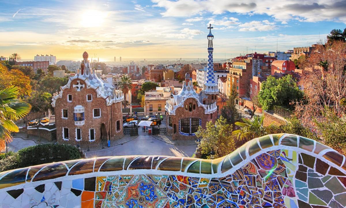 Gaudis vaerker i Spanien